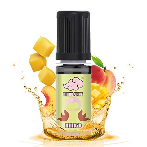 NINDO Aroma Fruttato Concentrato MINGO 10ml | Un fresco tea alla pesca con note di mango! | 100% Made in Italy | Aroma Puro da Diluire (Confezione Singola)