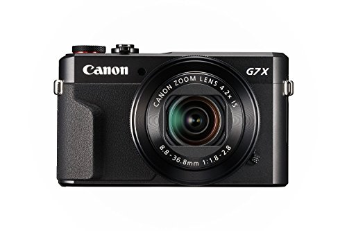 Canon PowerShot G7 X Mark II (Black) (Renewed)