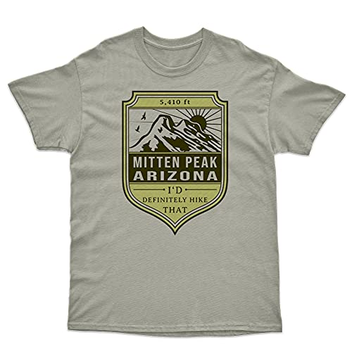 Arizona Tshirt for Hiking Gift Compatible with Mitten Peak 5410 ft