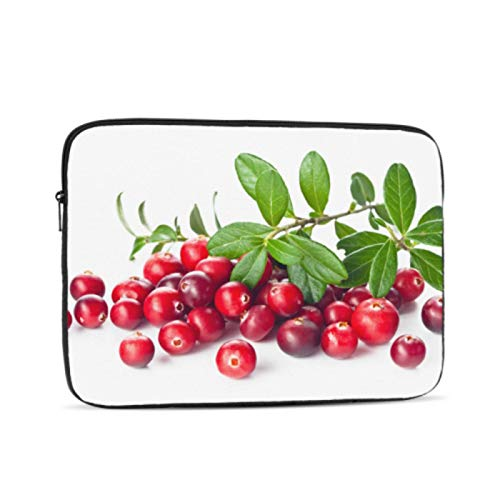 Macbook Laptop Cover Bright Red Fashionable Cranberry Macbook Accessories Multi-Color & Size Choices10/12/13/15/17 Inch Computer Tablet Briefcase Carrying Bag
