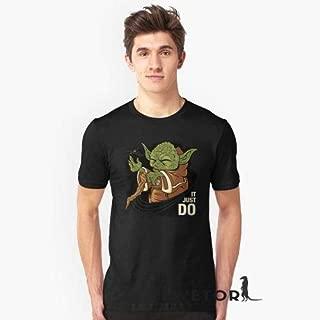 Camisa Camiseta Masculino Blusa Star Wars Mestre Yoda Força