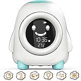 Foreita Children's Sleep Training Alarm Clock - Wake Up Clock Night Light Timer