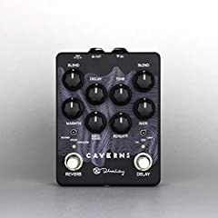 Spring Mode - Black Face Amp style spring reverb with F Style Tremolo Modulation Mode - Choral modulation to the reverb for a huge, cavernous reverb Shimmer Mode - Reverb with emphasis on octave-up voices in reverb trails Three way switchable modulat...