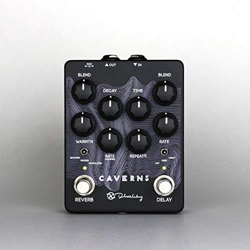Keeley Caverns V2 Delay/Reverb Effects Pedal Waves Limited Edition