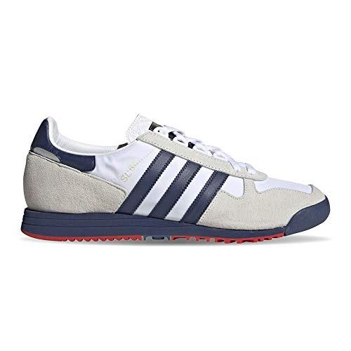 adidas Originals SL 80, Footwear White-Tech Indigo-Orbit Grey, 8