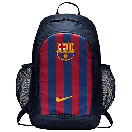 NIKE Stadium FC Barcelona Backpack Mochila, Unisex Adulto, Obsidian/Deep Royal Blue/University Gold,...