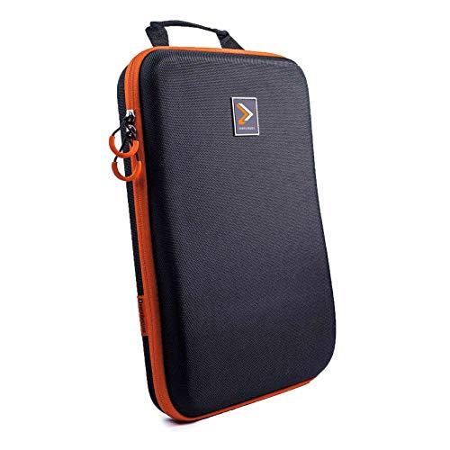 IAMRUNBOX Garment Bag - Funda Porta Camisas, Bolso de Viaje Organizador de Ropa + Plegador Gratis - Singlepack (Naranja)