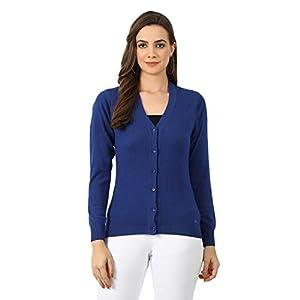 Monte Carlo Women Blue Nylon Cardigan 6 41QytP1c7tL. SS300