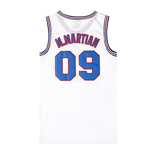 Herren Basketball Trikot Michael Jordan # 23 Space Jam Street Retro T-Shirt Sommer...