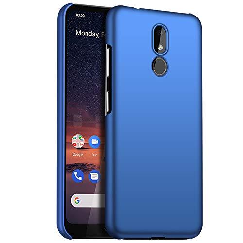 1SourceTek Compatibile per Nokia 3.2 Custodia [Ultra Sottile & Serie Colorato & Anti-graffio] - Antiscivolo Case per Premium Material Slim Full Protection Cover for Nokia 3.2 (Ghiaia Verde)