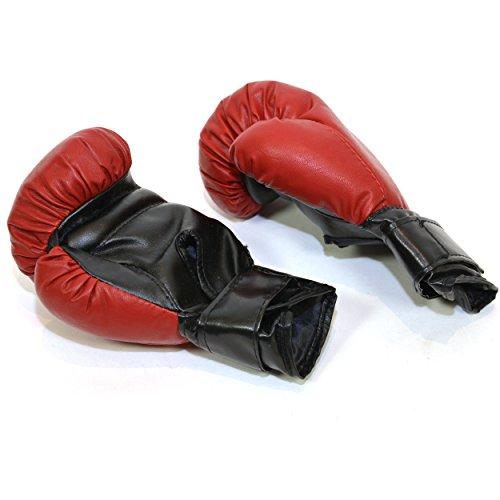 FLIXI Profi Boxsack für Kinder gefüllt und freistehend 1 Paar Kinderboxhandschuhe