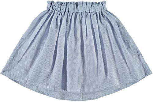 NAME IT Mädchen Sommer Rock NKFHARPER Skirt Biobaumwolle, Größe:146, Farbe:Dutch Blue