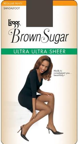 L eggs Brown Sugar Ultra Ultra Sheer Pantyhose Coffee L product image