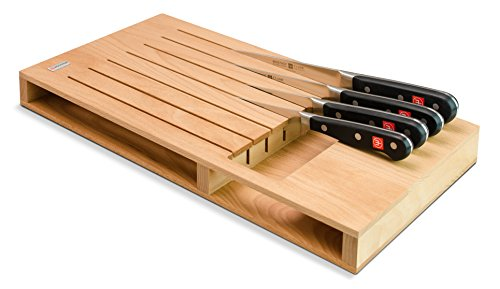 Wüsthof, inserte un cuchillo del cajón, 7 unid., Brown (Holz)