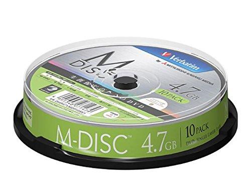 三菱ケミカル 長期保存用 M-DISC DVD-R スピンドル 1パック 10枚