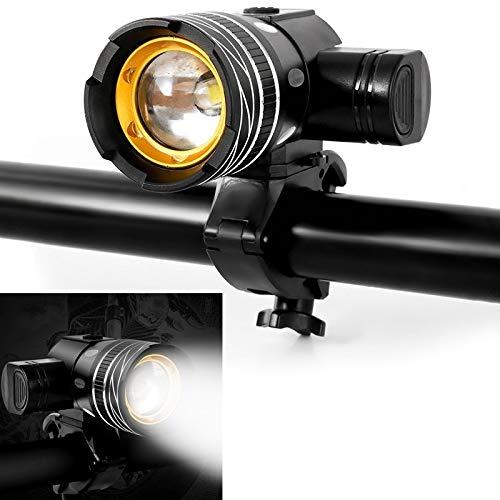 YHMC ZXC ATV 150LM Aluminium Alloy Waterproof Bicycle Light 3 Modes LED Cycling Headlight