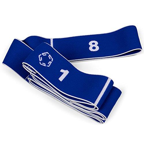 Gregster mittel/hart Elastikband, für verschiedene Fitness Übungen, blau