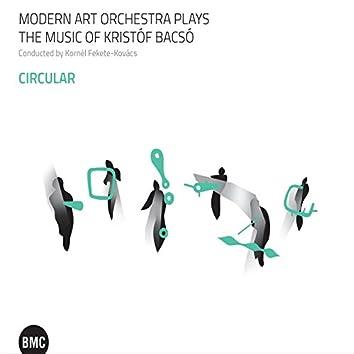 Modern Art Orchestra plays the music of Kristóf Bacsó: Circular