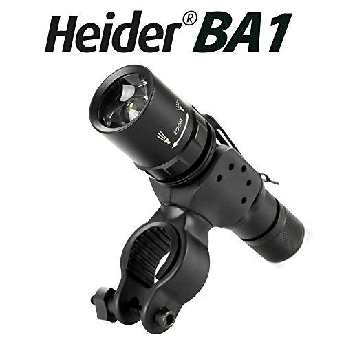 Heider BA1 Universal Bicycle Bike Flashlight, Torch, Lamp Mount -...
