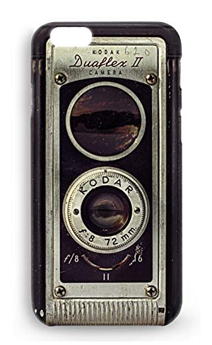 Protector Cristal Templado + Carcasa Camara Fotos Retro Vintage para Samsung Galaxy...