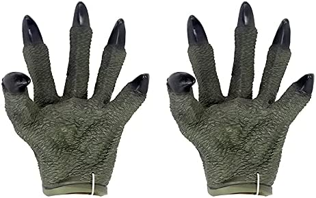Ferna Doll Gloves Animal World Toys half Dinosaur Rubber Soft Wholesale Hand