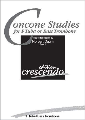 Concone Studies for F Tuba/Bass Trombone. Book I / Concone-Studien für F-Tuba/Bassposaune Buch I (Spielpartitur)