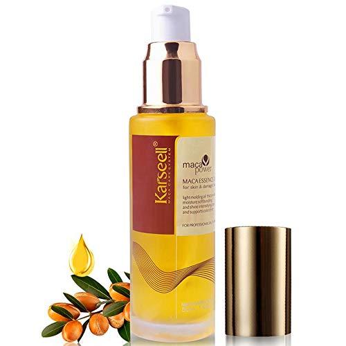 Moroccan Argan Oil Rich in Vitamin E Herbal Extract Hair Serum Oil Deep...