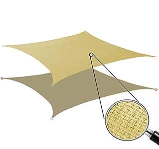 Toldo Vela de Sombra Rectangular Protección Rayos UV Solar Protección HDPE Transpirable Aislamiento de Calor para Dar Sombra a su, Jardín, Color Arena (2x3m, Arena)