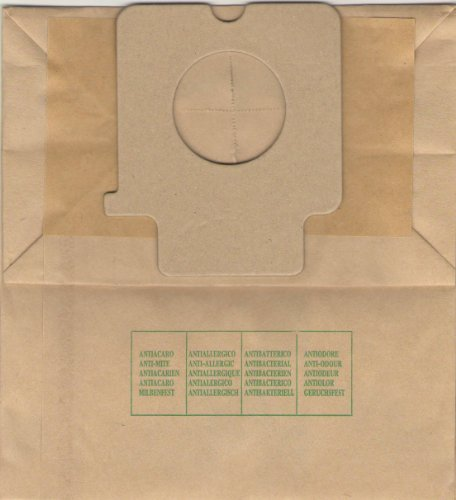 Elettrocasa PA 1, Sacchetti per aspirapolvere, confezione di 10