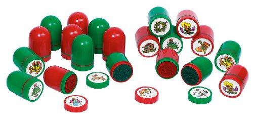 goki 15343 Stempel Weihnachtsmotive 10er Set