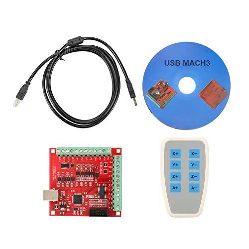USB-CNC-Controller-Karte DC 24V MACH3 100Khz Motion Controller-Karte Breakout-Board-Unterstützung für 4-Achsen-Verbindung