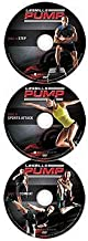LES MILLS PUMP ULTIMATE CROSS TRAINING DELUXE DVD'S (STEP,COMBAT,SPORTS ATTACK)