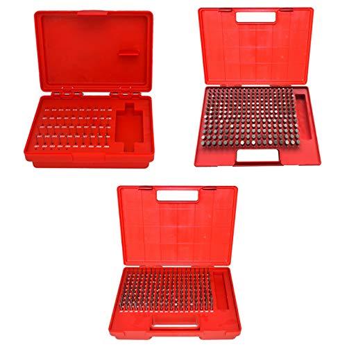 All Industrial 55122 | 3 Sets M0/M1/M2 490 Pcs .011-.500 Plug Pin Gage Set Minus