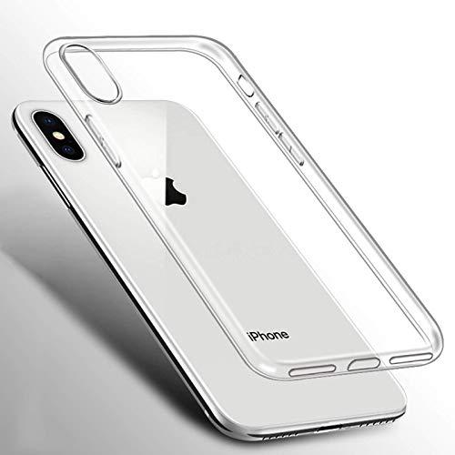 iPhone Xs Max XR X 12 11 Pro 7 8 Plus 6 S 6S 5S 5SE 5SE 6Plus 7Plus 8Plus 12pro 12max TPU Funda protectora de silicona transparente