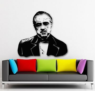 Wall Stickers Vinyl Decal Mafia Godfather Gangster Film (VS1672)