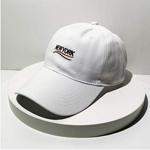 mlpnko Straßen-Tanzpaar-weißer einheitlicher Code der männlichen Softtop-Biegungshut-Baseballmütze der Kappe weiblicher