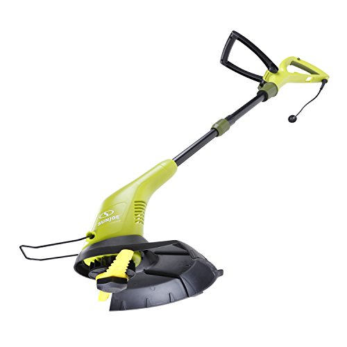 Learn More About Sun Joe SB601E Sharper Blade Stringless Electric Trimmer/Edger, Green