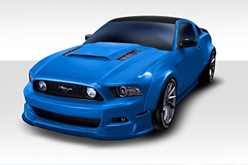 2010-2014 Ford Mustang Duraflex Circuit Wide Body Kit - 4 Piece