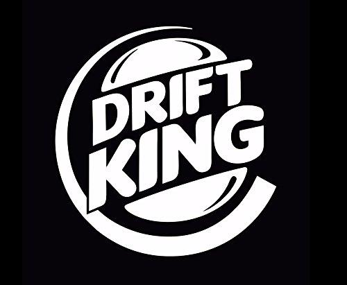 Gadgets wrap Drift King JDM Drifting Stance car Window Bumper Vinyl Decal Sticker ()