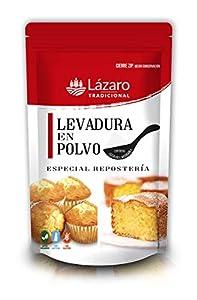 Lázaro Levadura Especial Repostería 100 g, bolsa con cierre ZIP para su perfecta conservación, Contiene Cacito medidor.