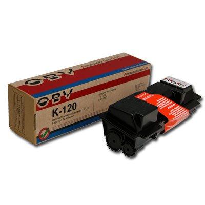 OBV FS 1030 kompatibler Toner ersetzt Kyocera TK-120 / 1T02G60DE0 Kapazität: 7200 Seiten, schwarz