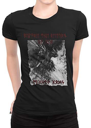 T-shirt pour femme motif : the beware return of... odin viking thor-t-shirt Small