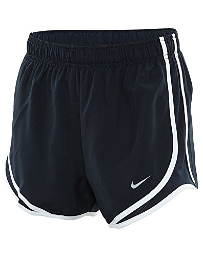 Nike Women's Dry Tempo Running Short Dark Obsidian/Wolf Grey Size Medium