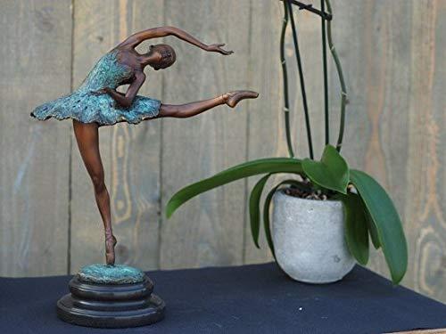 Beeld brons - voor binnen en buiten - beeld ballerina - Bronzartes