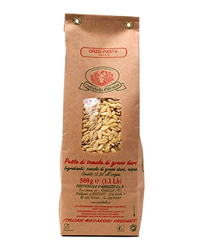 Rustichella d'Abruzzo Orzo Pasta 500g