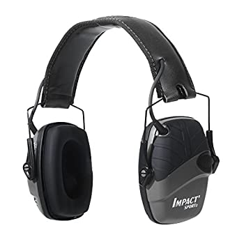 Howard Leight by Honeywell Impact Sport Sound Amplification Electronic Shooting Earmuff Black
