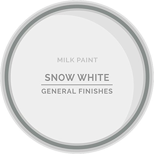 General Finishes Water Based Milk Paint Snow White Gallon