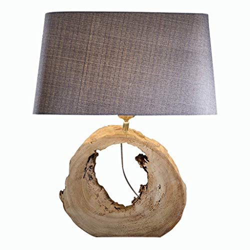 WEI-LUONG Iluminación decorativa, Reading lámpara- de noche y lámparas de mesa dormitorio de la lámpara lámpara de cabecera moderna simple lámpara de mesa lámpara de mesa de madera nórdica original ec