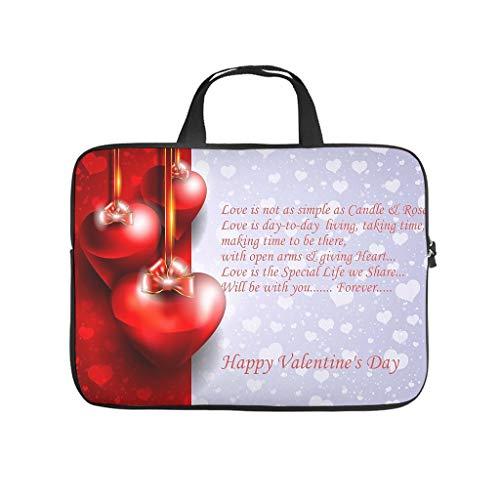 Glücklicher Valentinstag Laptoptasche...