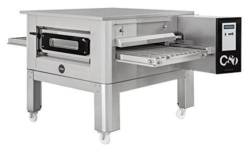 Horno de pizza tipo túnel C/80 Prismafood Premium, adecuado para bandejas de pizza...